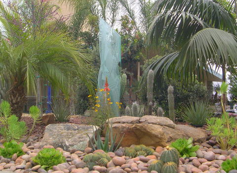 Steve Harbour Landscapes display at the San Diego Home and Garden Show in Del Mar, CA
